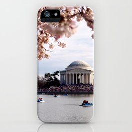 Cherry Blossoms of DC iPhone Case