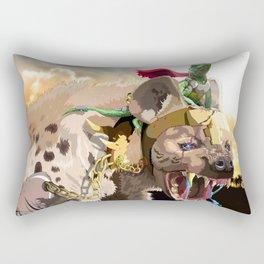 Pet Hyena Rectangular Pillow