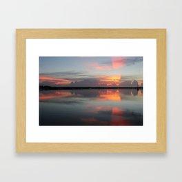 Sunrise in Church's Creek Framed Art Print