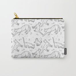 CATSTELLATIONS #white Carry-All Pouch