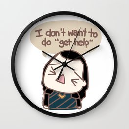 I don't want to Wall Clock