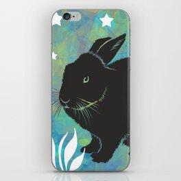 The Black Bunny iPhone Skin