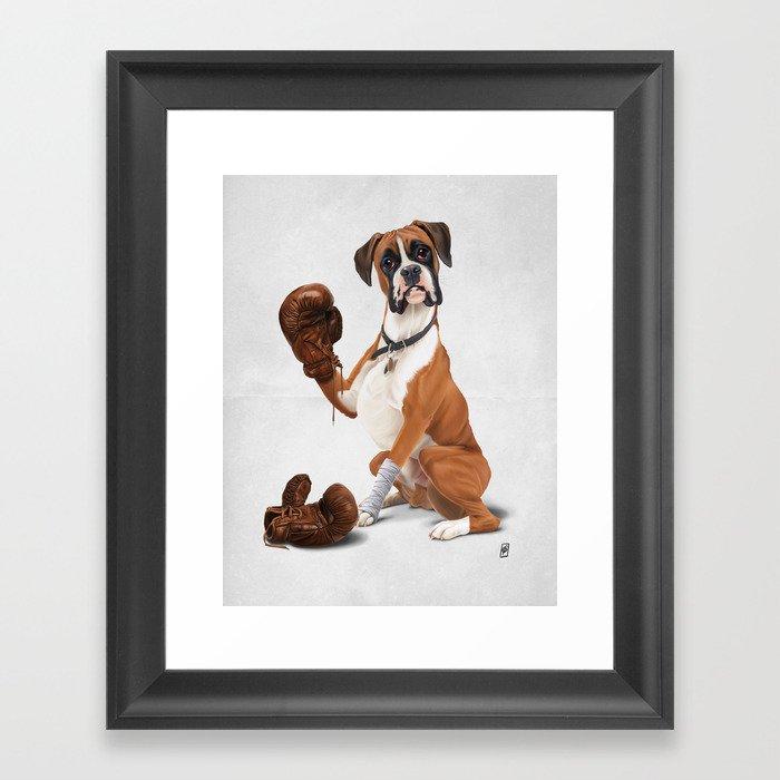 The Boxer (Wordless) Framed Art Print