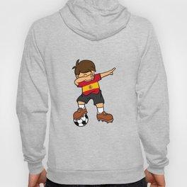 Spain Soccer Ball Dabbing Kid Spaniard Football 2018 Hoody