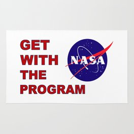 NASA: Get With The Program! Rug