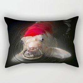 At the surface Rectangular Pillow