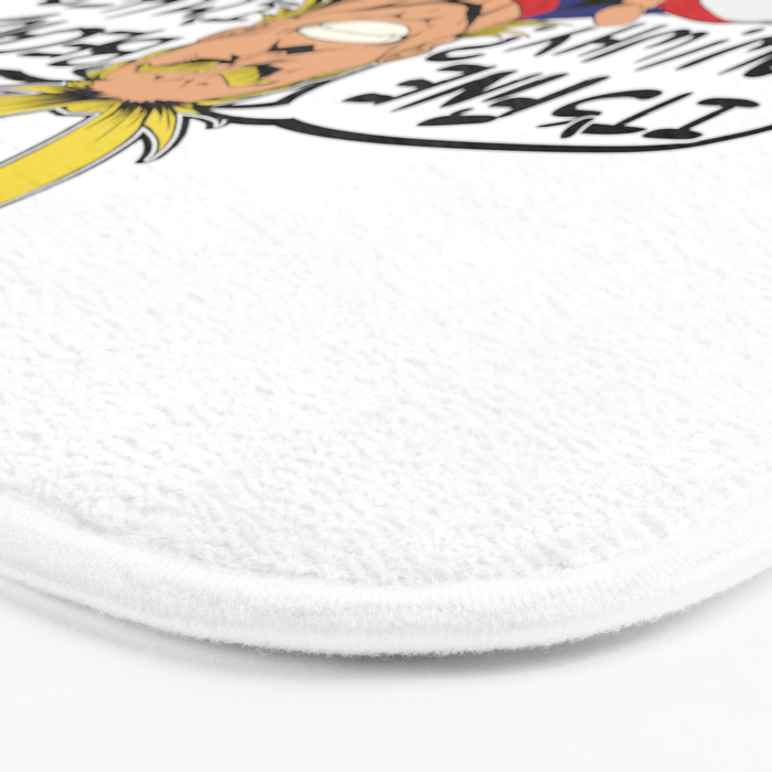 All Might is here! Bath Mat