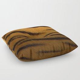 Tiger Print Pattern Design Floor Pillow