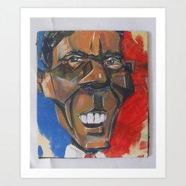 Obama Abstract Art Print