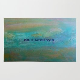 P.S. I Love You Rug