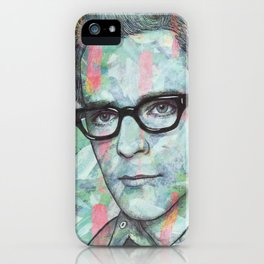 Rivers Cuomo - Tell Me Who's That Funky Dude iPhone Case