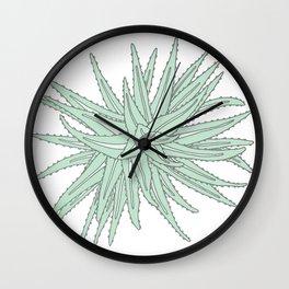succulent Wall Clock