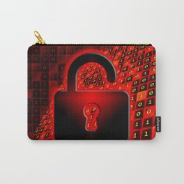 Unprotected data Carry-All Pouch