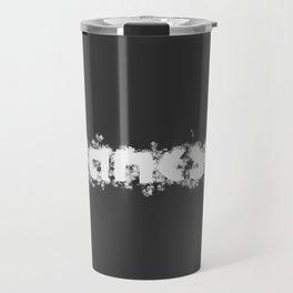 Banksy Signature, Splatter Painting Artwork for Wall Art, Prints, Posters, Tshirts, Men, Women, Youth Travel Mug