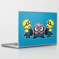 kirby Laptop & iPad Skins featuring Kirby Made Some Friends by sarahbevan11