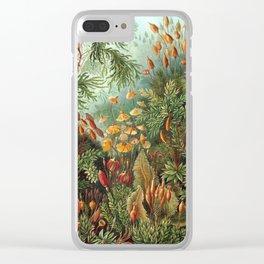 Ernst Haeckel -Muscinae (1904) Clear iPhone Case