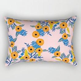 Kat's blues Rectangular Pillow