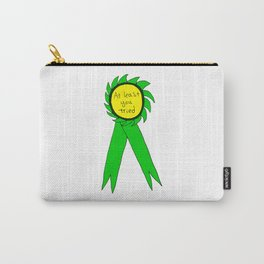 At Least You Tried Award Ribbon Carry-All Pouch