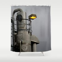 fallout Shower Curtains featuring After the Fallout by Jeffrey J. Irwin