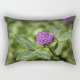 Red Clover Rectangular Pillow