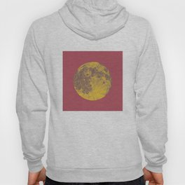 Chinese Mid-Autumn Festival Moon Cake Print Hoody