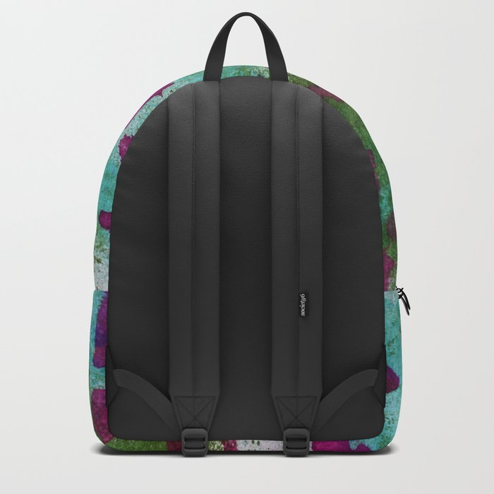 Mixed Alphabet Ink Backpack