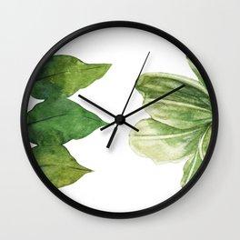 Minimalista floral Wall Clock
