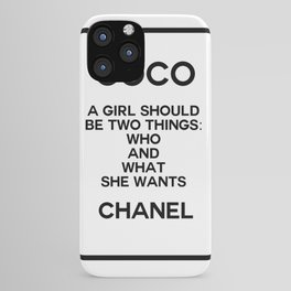 coco quote no. 5 iPhone Case