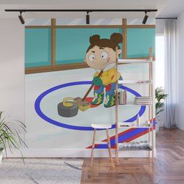 Winter Sports: Curling Wall Mural