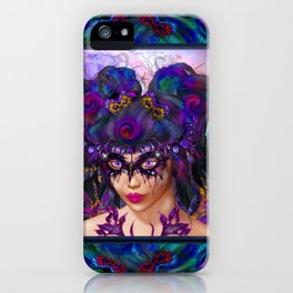 Faerie Masquerade iPhone Case