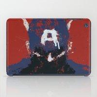 captain iPad Cases featuring The Captain by Purple Cactus
