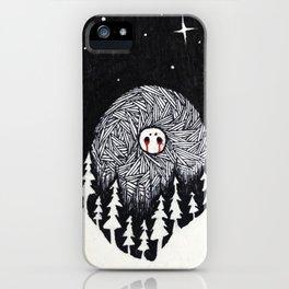 Night Beast 1 iPhone Case