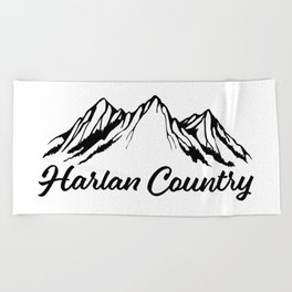 Harlan Country (Dead Hollow) Beach Towel