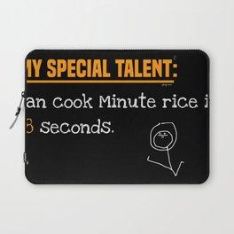 My special talent Dark Laptop Sleeve