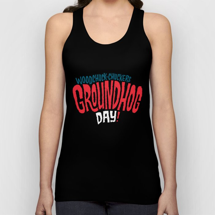 It's Groundhog Day! Unisex Tank Top