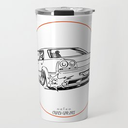 Crazy Car Art 0215 Travel Mug