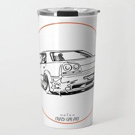 Crazy Car Art 0215 Travel Mug
