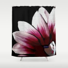 Sweet Dreams Harlequin Shower Curtain