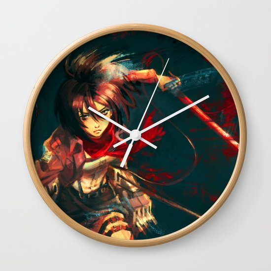 Worth a Hundred Soldiers Wall Clock