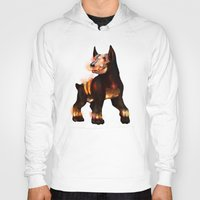 the hound Hoodies featuring Hell hound by Criminal Crow