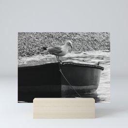 Fisherman's friend Mini Art Print