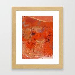 Fragments Framed Art Print