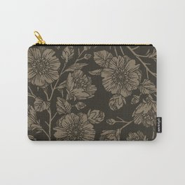 Midnight Blooms Carry-All Pouch