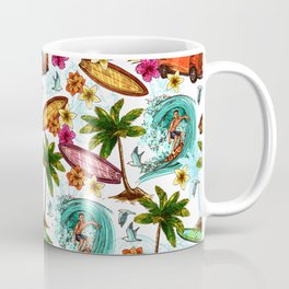 Summer surfing Coffee Mug