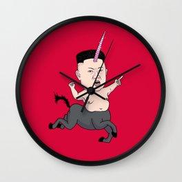 Kim Jong Unicorn Wall Clock