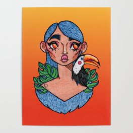 Tropical Wonderland Poster