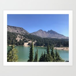 Central Oregon Scenery Art Print