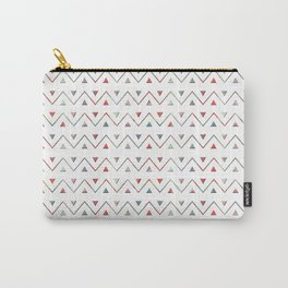 Ethno wave with triangles. Carry-All Pouch