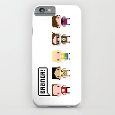 The Big Bang Theory Pixel Characters Slim Case iPhone 6s