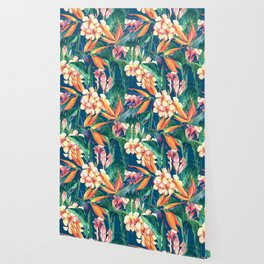 Tropical Bird Of Paradise Flowers Wallpaper